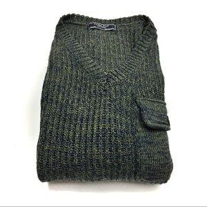 Men's - Zara Man Denim Couture Sweater